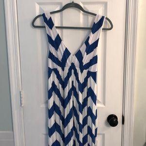 Jcrew Chevron Maxi Dress, size M